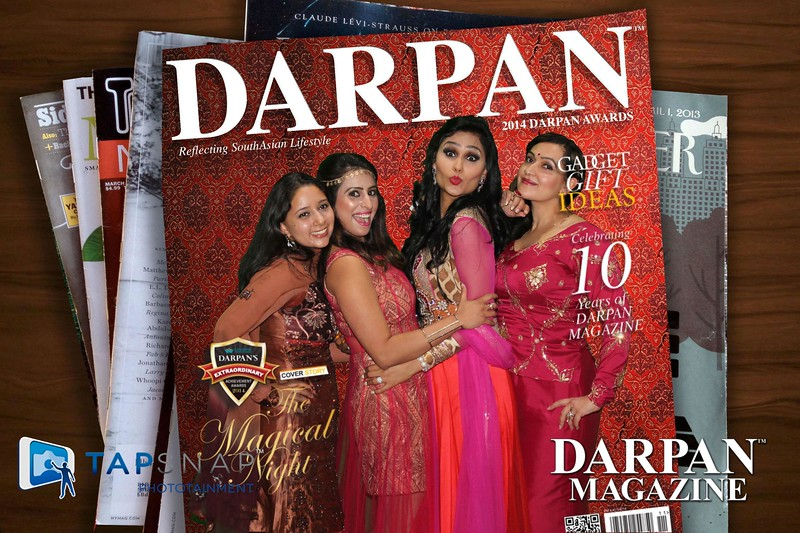 Image your guests on the cover of YOUR magazine!