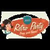 Retro Party Sign