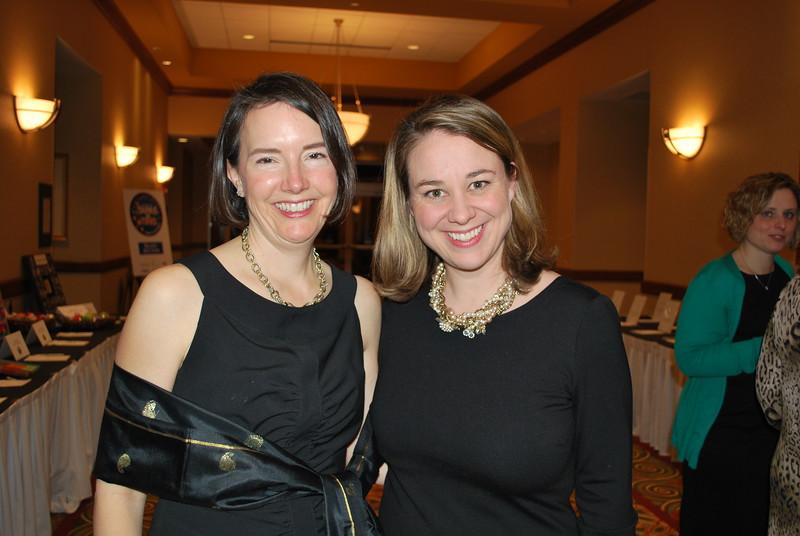 Kathleen McLaughlin and Amanda Courcy