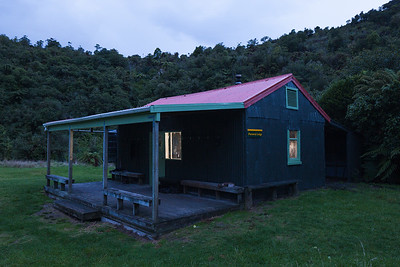 Parawai Hut, Otaki Forks, Tararua Forest Park