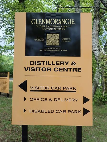 Arrival at Glenmorangie!