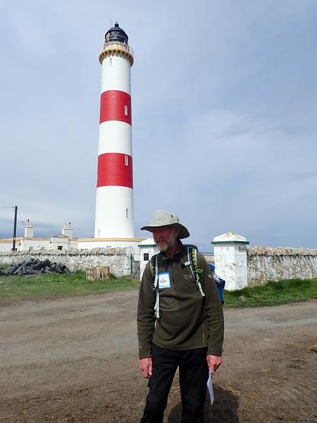 Brian walks to Tarbat Ness Lighthouse