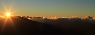 Sunset and mountains... I wish every day was like that...