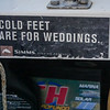 Cold Feet Are For Weddings.