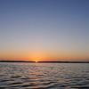 Teh Sun Rises over a Tarpon Fishery.