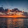 Sunrise North of Campeche.
