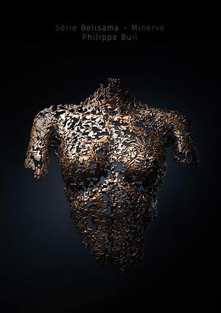 Serie Belisama - Minerve  -  par Philippe Buil.    http://philippe-buil.com