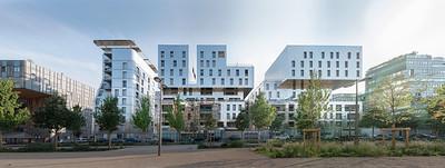 Habitations, bureaux , Rue Casimir Périer. Confluences. LYON