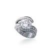 Un diamant de 4.24cts sublime cette pièce unique.