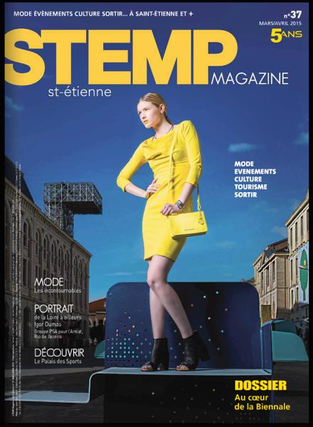 Couverture STEMP MAGAZINE 5 ans, Mars 2015