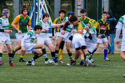 Tasman contra Soto del Real. Infantiles. 16 marzo 2013.