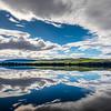 Meadowbank Lake Reflection