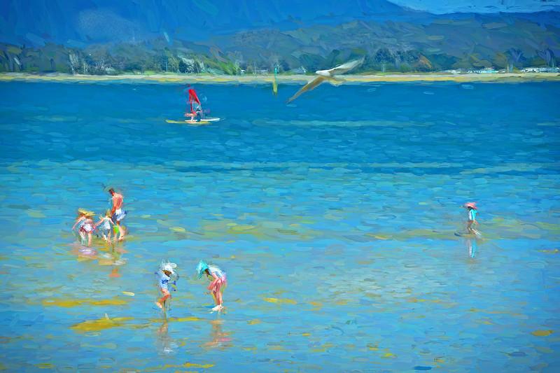 Lagoon Beach, Tamar River. 1.