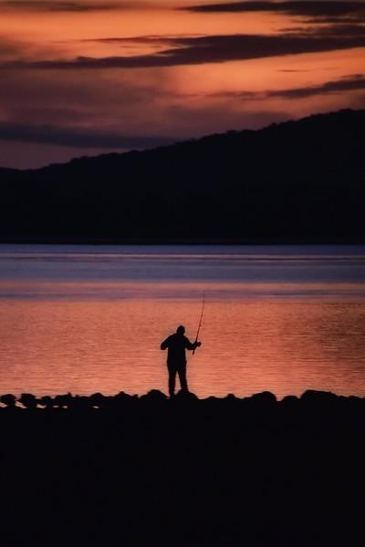 Fishing  on the Tamar. 2. George Town.