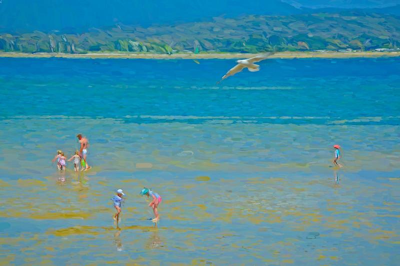 Lagoon Beach, Tamar River. 2.