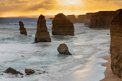 No visit to Australia is complete without seeing the (used to be) 12 apostles along the great ocean road