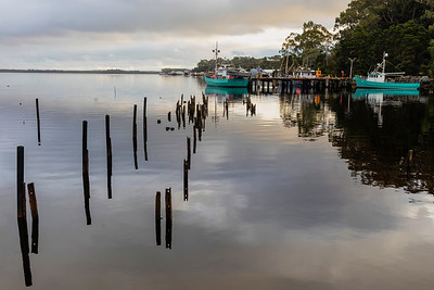 Strahan is an old fishing village home to the Gordon RIven and one of Australia's oldest prison islands (now defunct)