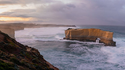 There are numerous beautiful formations to be seen along the road around Port Campbell