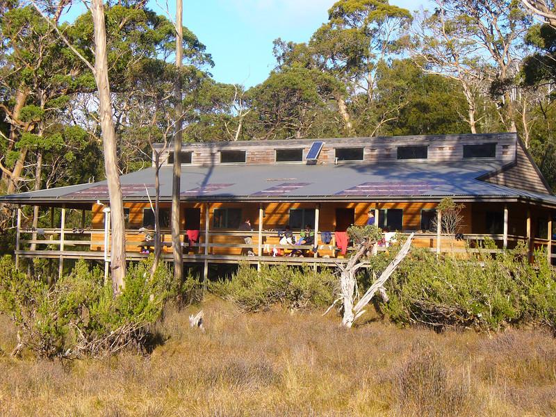 Pelion Hut grandeur.