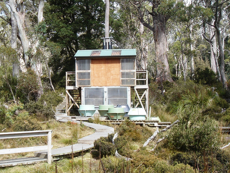 Toilet Palace at Pelion Hut