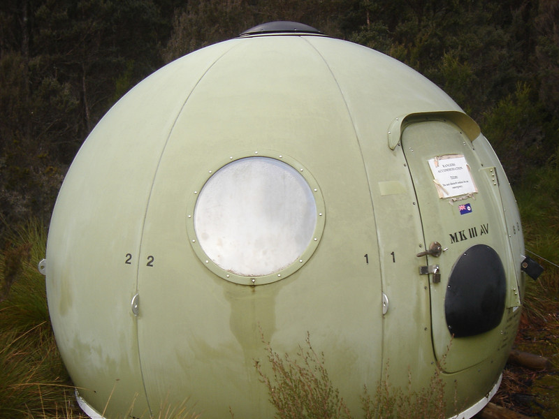 Portable pod at Windy Ridge