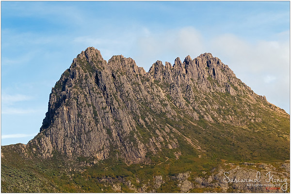 Dolerite of cradle mountain