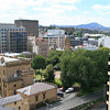 View from the top floor of 10 Murray Street Hobart, 9 January 2009