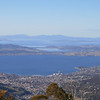 Sandy Bay & Casino, Tranmere and Frederick Henry Bay from Pinnacle Road, Mt Wellington