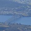 Tasman Bridge from Pinnacle Road, Mt Wellington