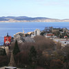 View of Hobart from 13th floor, Commonwealth Centre