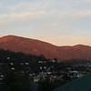 sunrise hits kunanyi 12 may 2014