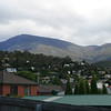 Kunanyi (Mt Wellington) from our backyard in Lenah Valley, 5 January 2012.