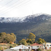 Kunanyi (Mt Wellington) from Huon Road
