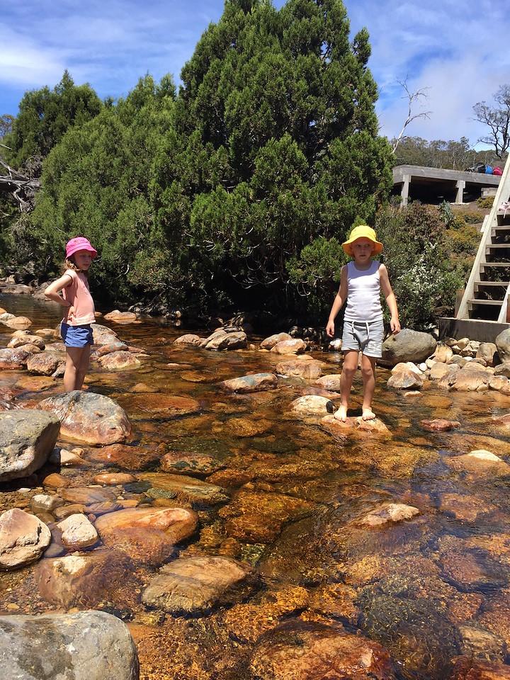 Paddling in Dove Creek