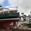 Cartela & May Queen up on Domain Slipway, Sept 2008