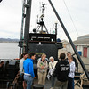 "Visitors on board the ""Steve Irwin"""