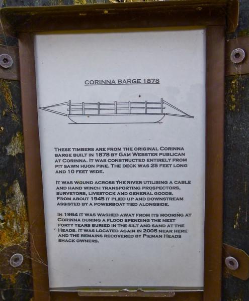 Corinna barge details
