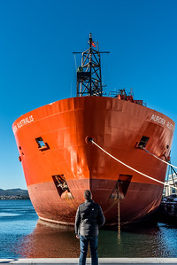 Aurora Australis at Hobart.