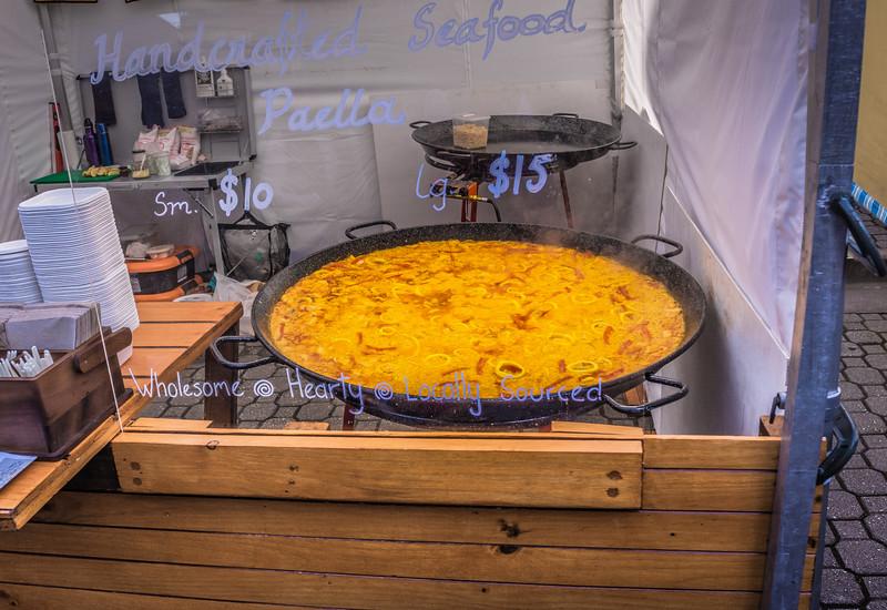 Hearty Salamanca Market Paella