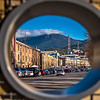 A peek at Mount Wellington from Salamanca Market.