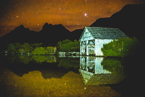 Dove Lake Boat Shed - Cradle Mountain - Tasmania, Australia