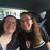 Sarah and Holly on the road to Taste of Cincinnati