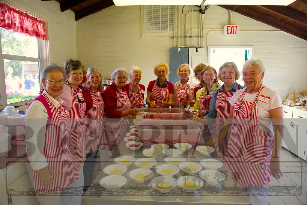 2014 United Methodist Church Woman's Strawberry Festival
