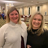 PTO President Melissa Brennan and Ginger Skoog, both of Chelmsford