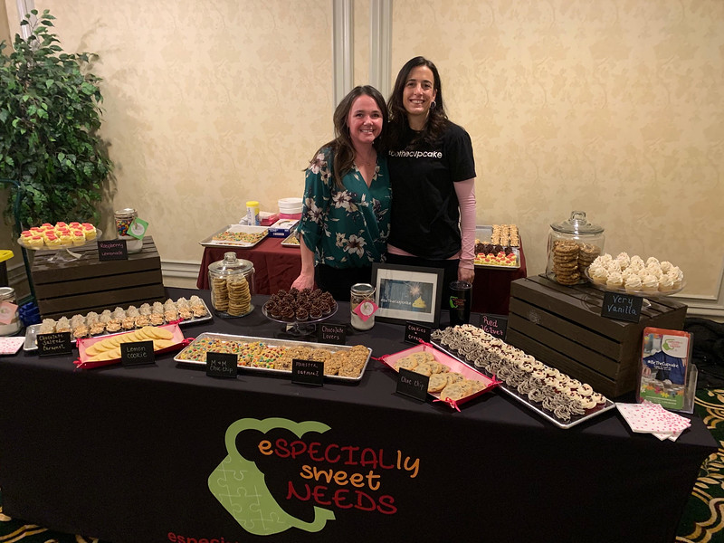 Especially Sweet Needs owner Tricia Woolard of Pelham and Tanya Yavarow of Chelmsford