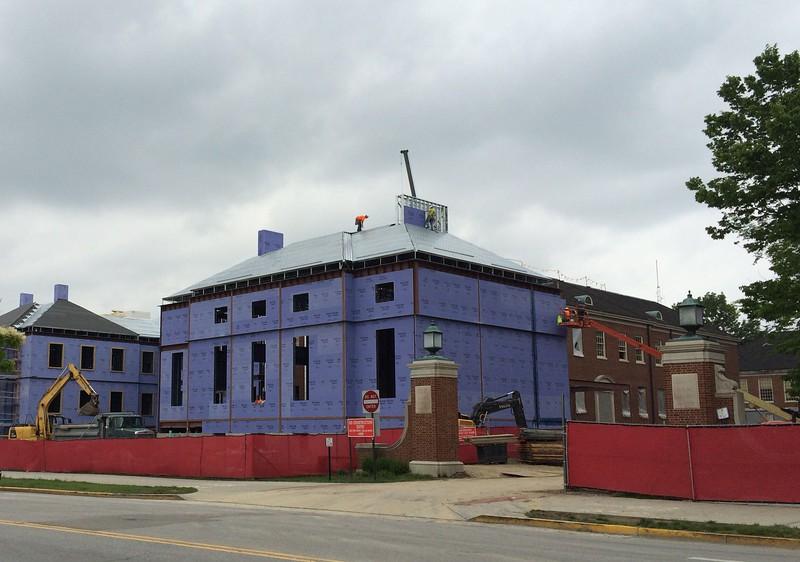 Shidler Hall Construction and Renovation