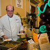 Bill Brady, of Sonoma, serves up some samples during the Taste of North Central on Wednesday evening. SENTINEL & ENTERPRISE / Ashley Green