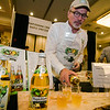 Joe Laur pours samples of Mample Mama Craft Maple Spritzers during the Annual Taste of North Central on Wednesday evening at the DoubleTree by Hilton Hotel in Leominster. SENTINEL & ENTERPRISE / Ashley Green