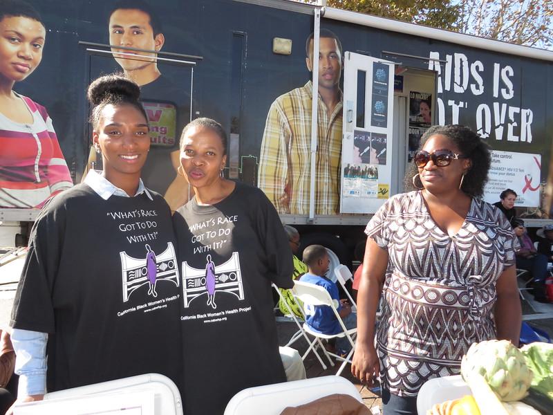 California Black Women's Health Project volunteers helped Prof. Cynthia Davis and her team