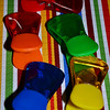 """CHIP CLIPS""<br /> <br /> ""Colors are the smiles of nature."" ~ Leigh Hunt<br /> <br /> All -Purpose Clips that I found at Wal-Mart in March during spring break - love the colors!! They even matched our April (2014) table setting.<br /> <br /> (photo taken 3/16/2014)"